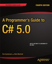 Cover of: A Programmer's Guide to C# 5.0 | Eric Gunnerson