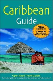 Cover of: Caribbean Guide, 4th Edition (Open Road Travel Guides)