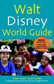 Cover of: Walt Disney World Guide, 2nd Ed. (Open Road Travel Guides) | Jay Fenster