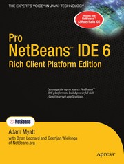 Cover of: Pro NetBeans IDE 6 rich client platform edition | Adam Myatt