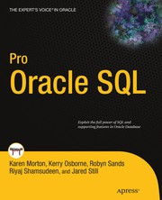 Cover of: Pro Oracle SQL