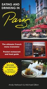Cover of: Eating and drinking in Paris