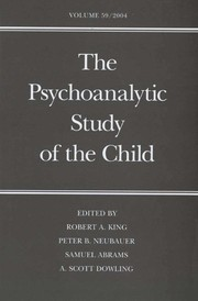 Cover of: The psychoanalytic study of the child