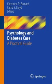Cover of: Psychology and Diabetes Care | Katharine D. Barnard