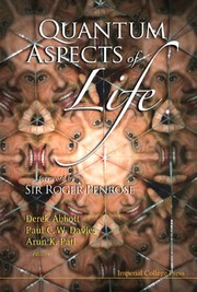 Cover of: Quantum aspects of life |