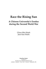 Cover of: Race the rising sun