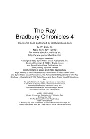 Cover of: The Ray Bradbury chronicles | Daniel Torres