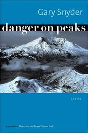 Cover of: Danger on Peaks: Poems