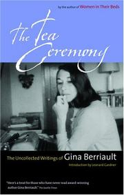Cover of: The tea ceremony