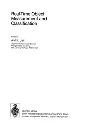 Cover of: Real-Time Object Measurement and Classification | Anil K. Jain