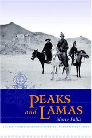 Cover of: Peaks and lamas