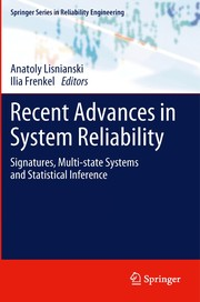 Cover of: Recent Advances in System Reliability | Anatoly Lisnianski