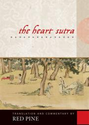 Cover of: The Heart Sutra | Red Pine