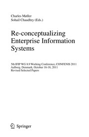 Cover of: Re-conceptualizing Enterprise Information Systems | Charles MГёller