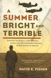 A Summer Bright and Terrible by David E. Fisher