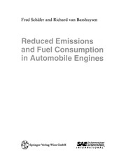 Cover of: Reduced Emissions and Fuel Consumption in Automobile Engines | Fred Schäfer