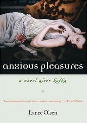 Cover of: Anxious Pleasures