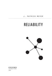 Cover of: Reliability | J. Patrick Meyer