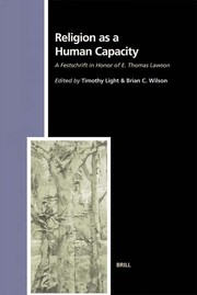 Cover of: Religion as a human capacity