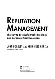 Cover of: Reputation management | John Doorley