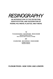Cover of: Resinography | Theodore George Rochow