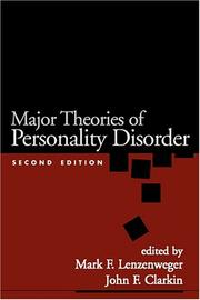 Cover of: Major Theories of Personality Disorder, Second Edition |