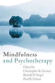 Cover of: Mindfulness and Psychotherapy |