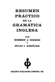 Cover of: Resuming Practices De La Gramatica Inglesa | Robert J. Dixson