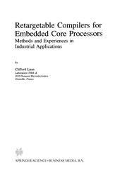 Cover of: Retargetable Compilers for Embedded Core Processors