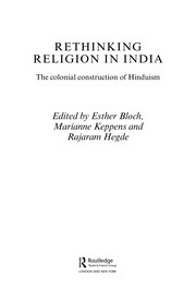 Cover of: Rethinking religion in India | Esther Bloch