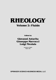 Cover of: Rheology | International Congress on Rheology (8th 1980 Naples)