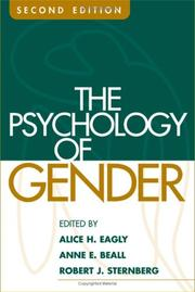 Cover of: The Psychology of Gender, Second Edition |
