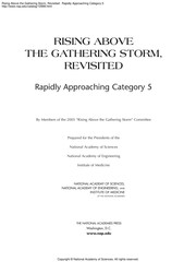 Cover of: Rising above the gathering storm, revisited | Rising Above the Gathering Storm Committee (U.S.)