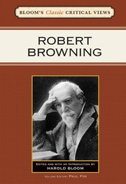 Cover of: Robert Browning |