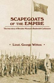 Scapegoats of the Empire by George Witton