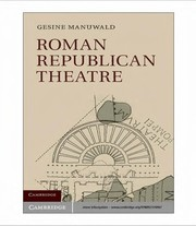 Cover of: Roman republican theatre