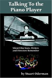 Cover of: Talking to the piano player | Stuart Oderman