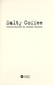 Cover of: Salty coffee | Katalin PГ©csi