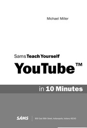 Cover of: Sams teach yourself YouTube in 10 minutes | Miller, Michael