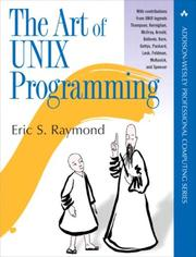 Cover of: The art of UNIX programming