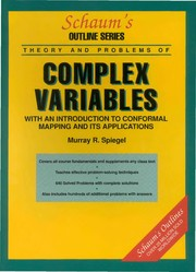 Cover of: Schaum's outline of theory and problems of complex variables