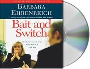 Cover of: Bait and Switch | Barbara Ehrenreich