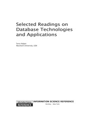 Cover of: Selected readings on database technologies and applications |
