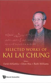 Cover of: Selected works of Kai Lai Chung | Kai Lai Chung