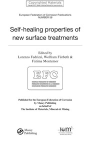 Cover of: Self-healing properties of new surface treatments | L. Fedrizzi