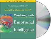 Cover of: Working With Emotional Intelligence | Daniel Goleman