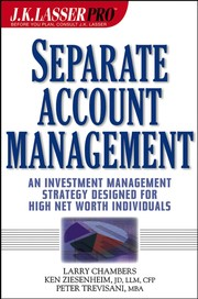 Cover of: J.K. Lasser Pro Separate Account Management | Larry Chambers