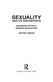 Cover of: Sexuality and its discontents | Jeffrey Weeks