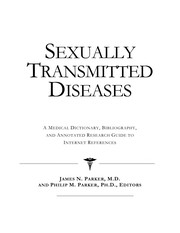 Cover of: Sexually transmitted diseases | James N. Parker