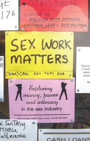 Cover of: Sex work matters | Melissa Hope Ditmore